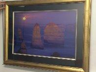 12 Apostles Moonglow  (Marine NP, Victoria) 1.5M Huge Panorama by Peter Lik - 2