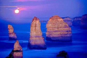 12 Apostles Moonglow  (Marine NP, Victoria) 1.5M Huge Panorama - Peter Lik