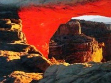 Echoes of Silence (Canyon-lands NP, Utah) 2M Super Huge Panorama - Peter Lik