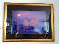 12 Apostles Moonglow (Twelve Apostles Marine NP, Victoria) Panorama by Peter Lik - 1