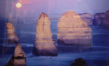 12 Apostles Moonglow (Twelve Apostles Marine NP, Victoria) Panorama by Peter Lik