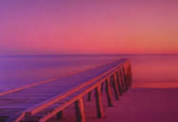 Jetty (Urangan, Queensland) Panorama by Peter Lik