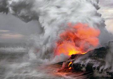 Pele's Whisper (Kilauea, Big Island Hawaii) Panorama - Peter Lik