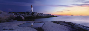 Atlantic Reflection (Peggy's Cove, Nova Scotia  AP Panorama - Peter Lik