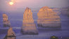 12 Apostles Moonglow (Twelve Apostles Marine NP, Victoria) Panorama by Peter Lik - 0