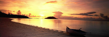Rowboat Sunset  Panorama - Peter Lik