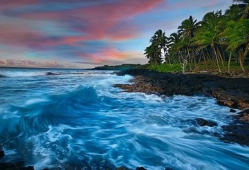 Coastal Palette (The Big Island, Hawaii) 1.5M Huge Panorama - Peter Lik