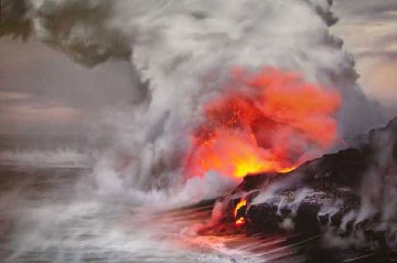 Pele's Whisper  (Kilauea, Big Island Hawaii) 1.5M Huge Panorama - Peter Lik