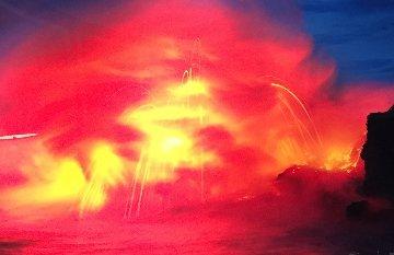 Ocean Fire 1.5M Huge Panorama - Peter Lik
