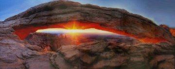 Sacred Sunrise (Canyonlands NP Utah) Panorama by Peter Lik