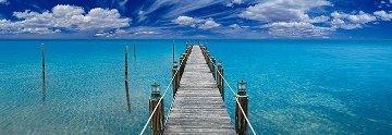 Tranquil Blue (Florida Keys) Panorama - Peter Lik