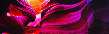 Angel's Heart (Antelope Canyon, AZ) Panorama by Peter Lik