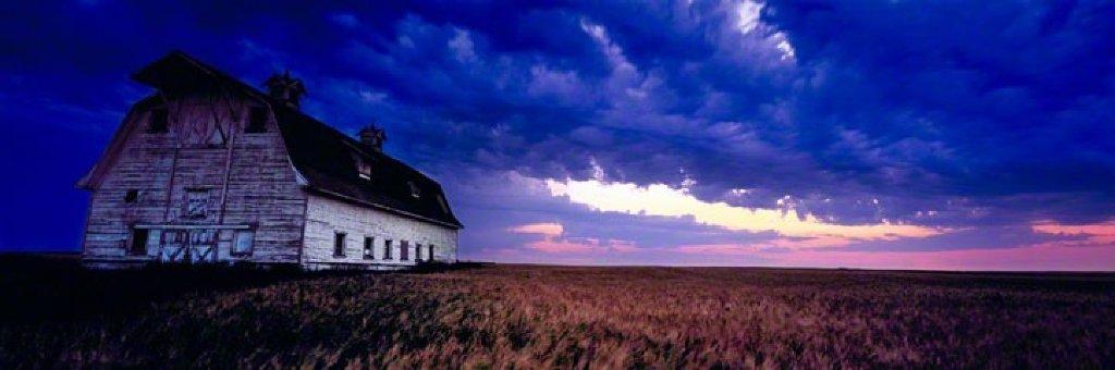Prairie Storm  Panorama by Peter Lik