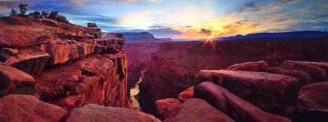 Blaze of Beauty (Grand Canyon, Az) Panorama - Peter Lik