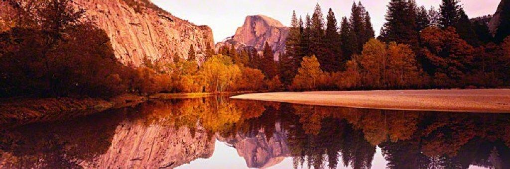 Yosemite Reflections  Panorama by Peter Lik