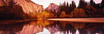 Yosemite Reflections  Panorama by Peter Lik