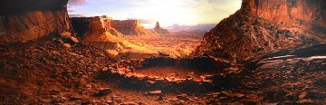 Ancient Spirit (Canyonlands ,NP, Utah) Panorama by Peter Lik