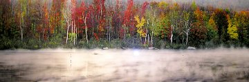Misty River  Panorama - Peter Lik