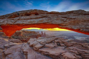 Sacred Arch  Panorama by Peter Lik