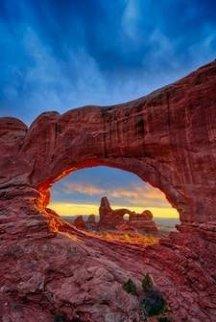 Desert Heat  Panorama by Peter Lik