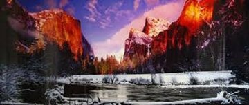 Icy Waters (Yosemite, NP, California)  Panorama - Peter Lik