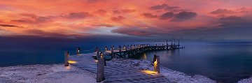Enchanted Jetty 1.5M Huge Panorama - Peter Lik