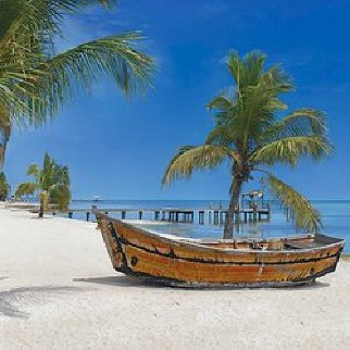 Keys to Paradise Panorama - Peter Lik