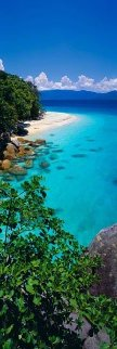Pure (Fitzroy Island, Queensland) Panorama by Peter Lik