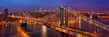 City (New York) Panorama by Peter Lik
