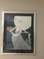 Dancing Before the Moon 1990 Limited Edition Print by Lillian Shao - 1
