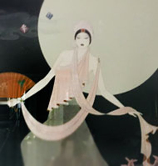Dancing Before the Moon 1990 Limited Edition Print by Lillian Shao