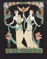 Twin Princesses (Gemini) AP  Limited Edition Print by Lillian Shao - 1