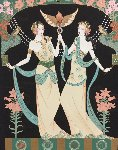 Twin Princesses (Gemini) AP  Limited Edition Print - Lillian Shao