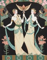 Twin Princesses (Gemini) AP  Limited Edition Print by Lillian Shao - 0