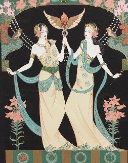 Twin Princesses (Gemini) AP  Limited Edition Print - Lillian Shao