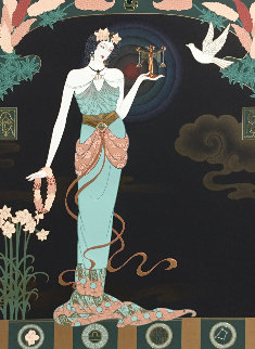 Fairest Maiden (libra) Ap  2007 Limited Edition Print by Lillian Shao