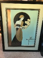 Chrysanthemum Song 1990 Limited Edition Print by Lillian Shao - 1