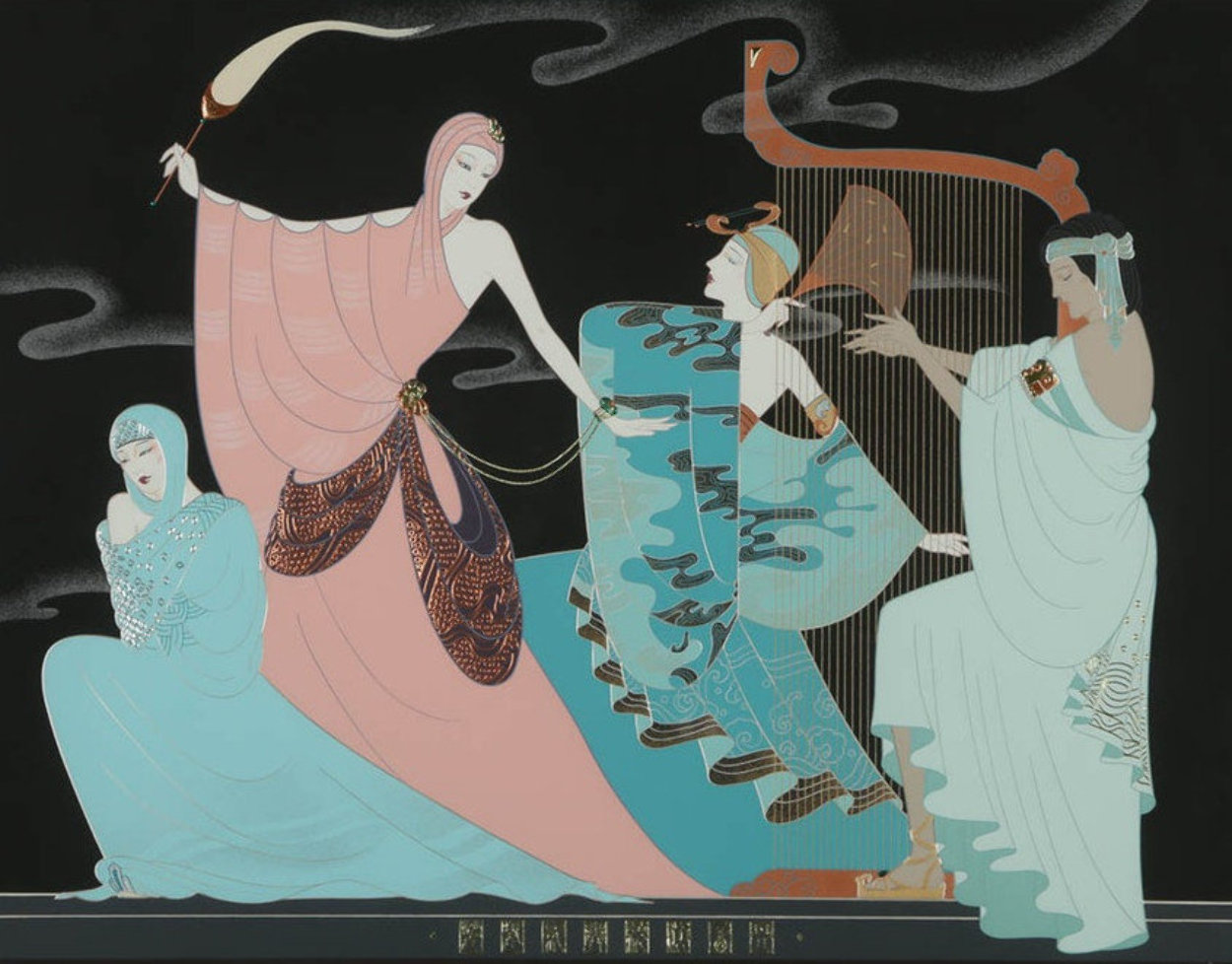 Harmony 1991  Limited Edition Print by Lillian Shao