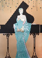 Chanteuse Limited Edition Print - Lillian Shao