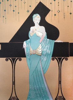 Chanteuse Limited Edition Print by Lillian Shao