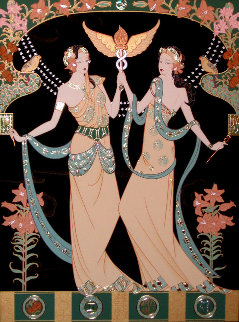 Twin Princesses (Gemini) Limited Edition Print by Lillian Shao