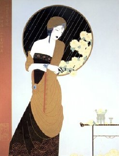 Chrysanthemum Song Limited Edition Print by Lillian Shao