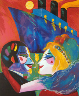 Love on the Boat 1988 Limited Edition Print by Earl Linderman