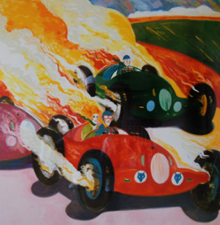 Grand Prix 1939-1987 Limited Edition Print by Earl Linderman