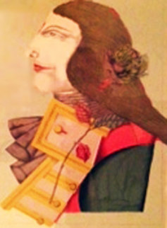 Der Rosenkavalier Limited Edition Print - Richard Lindner