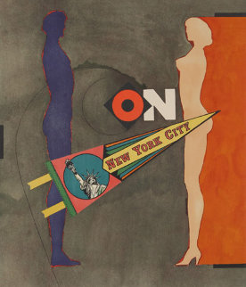 On (New York City) AP Limited Edition Print - Richard Lindner