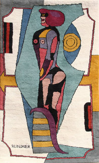 Untitled Tapestry AP 83x50 Limited Edition Print - Richard Lindner