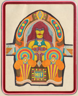 Hit Limited Edition Print by Richard Lindner