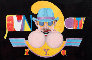 Fun City NYC Limited Edition Print by Richard Lindner