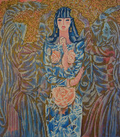 Goddess of the Roses 1988 Limited Edition Print by Zhou Ling - 1